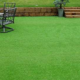 Artificial Grass and Wood Flooring