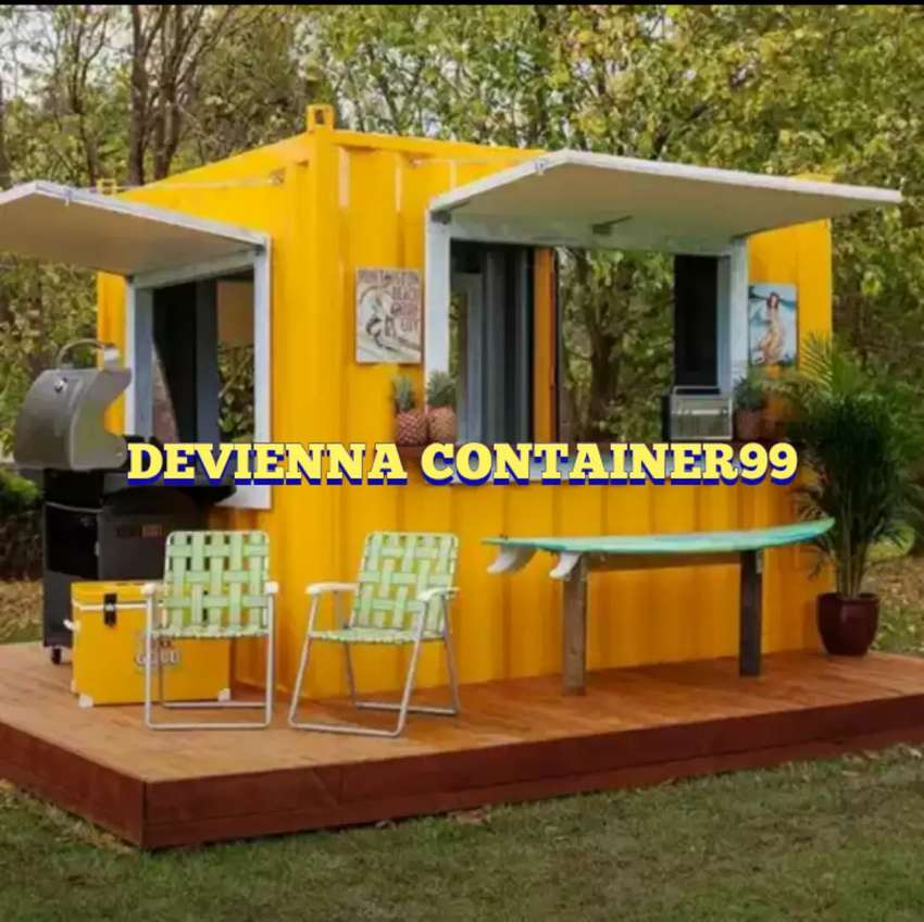 Container/stand/booth semi container/container usaha/booth jualan. 0