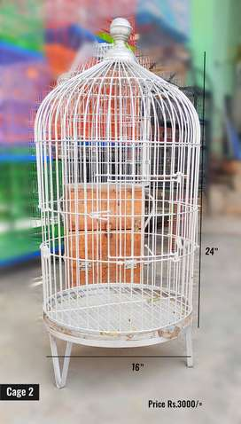 Birds Cages Pinjra for Parrot, and all small birds