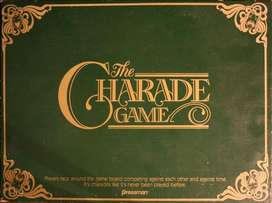Vintage Charade Game from UK