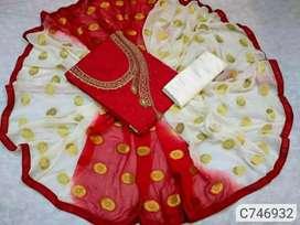 Women's dress materials