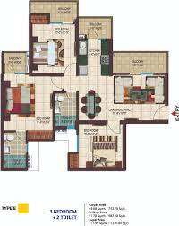 Newly Built 3 bhk apartment available for Sale in Noida Extension
