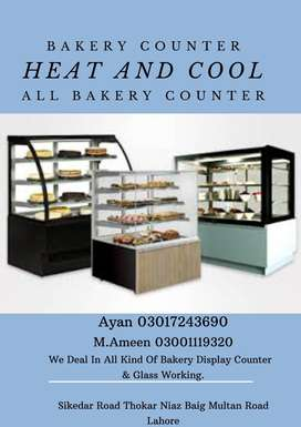 Best Glass Display Bakery Counter