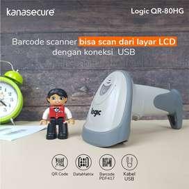 Barcode Scanner TERLARIS bisa Scan QR Logic QR 80HG