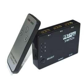 HDMI Switcher 3 Port Hdmi + Remote Solo Micro