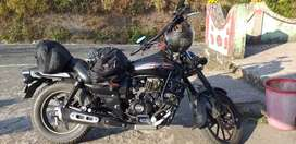 Papers are updated...1st class insurance...Handle Bar modified