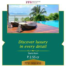 3 BHK villas for sale at 2.55 crore