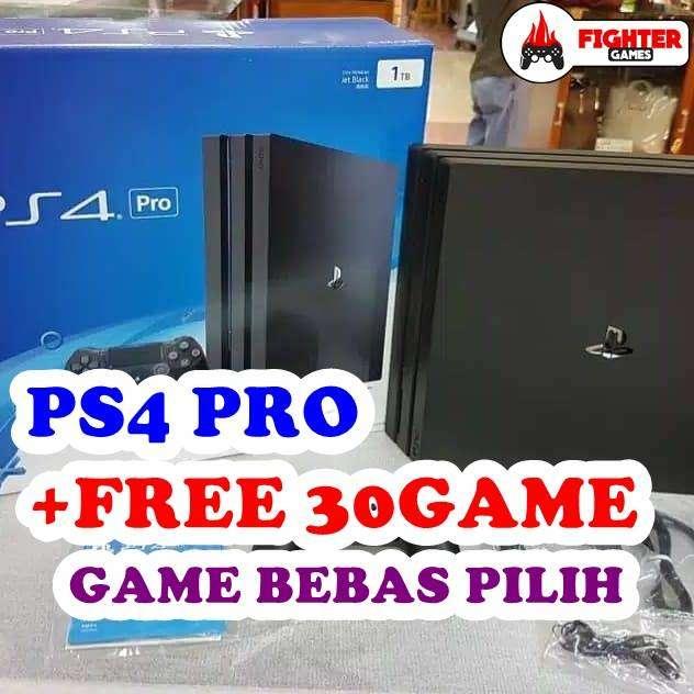 [NEW] PS4 PRO 4K 1TB +30GAME BANYAK PERMAINAN 0