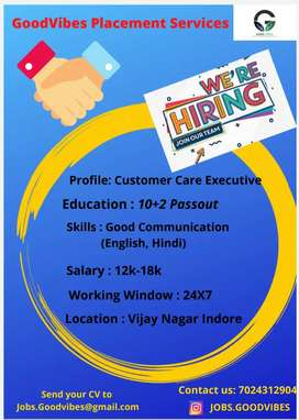 Required Customer Care Executive