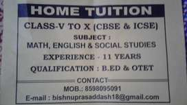 I am searching student for  home tution.