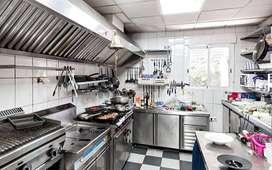 हेल्पर चाहिए Restaurant kitchen  mein helper chahiyeye