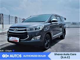 [OLX Autos] Toyota Kijang Innova 2015 Q 2.4 Solar Abu-Abu #Shava
