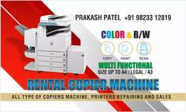 Copier machine for rent