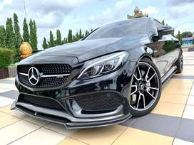 Mercedes benz C43 coupe AMG 2018. (Rare item)