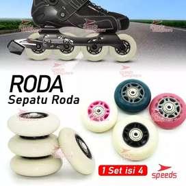 Roda Sepatu Roda Ban Wheels INLINE RODA INLINE Multifungsi PU Karet