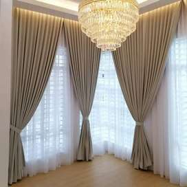 Minimalis Korden Gorden Gordyn Wallpaper Curtain Blind >265P