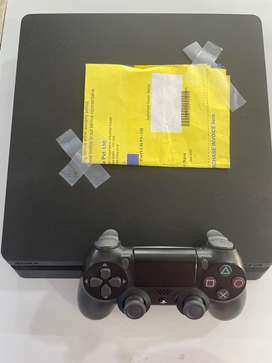 PS4 slim 1TB 11 months old . With bill & warranty card