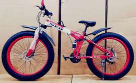 NEW FAT TYRE FOLDABLE CYCLE WITH 21 GEARS AVAILABLE IN YOUR CITY