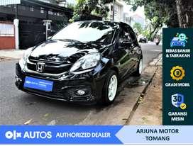 [OLX Autos] Honda Brio 2016 1.3 E A/T Bensin Hitam #Arjuna Tomang