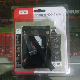HDD Hardisk Caddy Laptop 12.7mm Hard Disk SSD Cady 12,7 mm