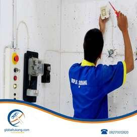 Tukang pasang instalasi listrik dan tukang sedot wc mampet