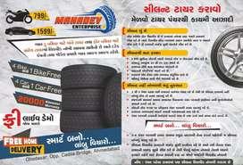 Tyre ni life vadharo tyre sealant thi