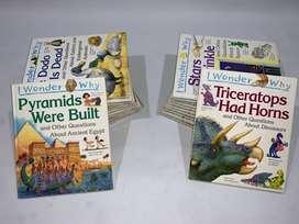 "Dijual Bundle 23 buku pengetahuan anak - Grolier ""I Wonder Why"""
