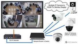 CCTV camera & Intercom Exchanges installation and repairing