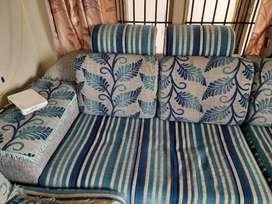 sofa made of jute