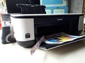 Canon Printer Tersedia Seri MP258 Lengkap Infus Full Tinta Baru