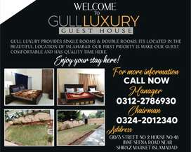Comfortable & clean rooms contact us for single & double rooms
