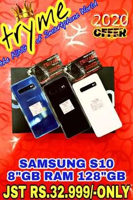 TRYME 128Gb/8Gb RAM SAMSUNG S10, Fresh Conditions