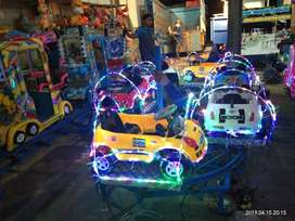 ERV mainan usaha kereta mini panggung kincir komedi safari putar