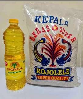 Paket beras dan minyak