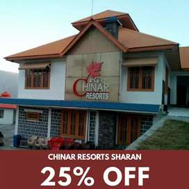 25% OFF Chinar Resorts Sharan