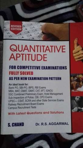 RS Aggarwal Quantitative Aptitude