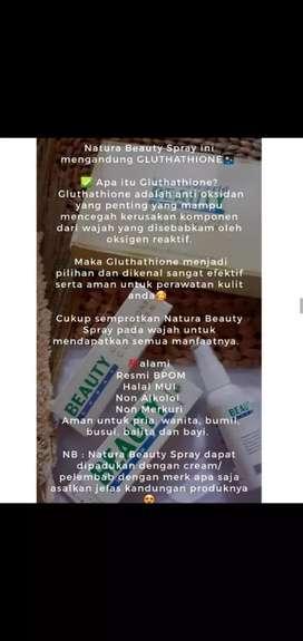 Natura Beauty Spray (serum multifungsi)
