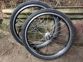 Wheelset uk 20 ex dahon
