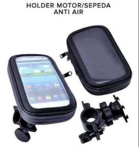 Murah - Holder  HP untuk stang motor - waterproof 6.3 inch