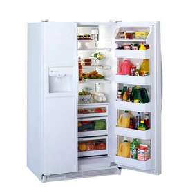 GE (General Electric) Side-by-Side Doors Refrigerator 700 Litres