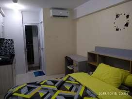 Apartemen Bassura City , furniture baru. Lantai 17 Studio . Harga zBU