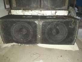 DJ sound 18 inch bass 1000 watt speaker
