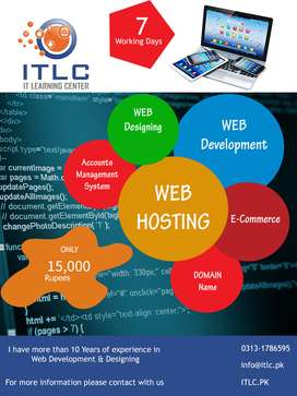Web Design and Web Development | I will Create Website For you | ITLC
