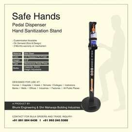 Sanitizer Foot Operated Stand
