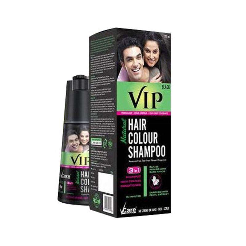 VIP Hair Color Shampoo - Dark Brown 0