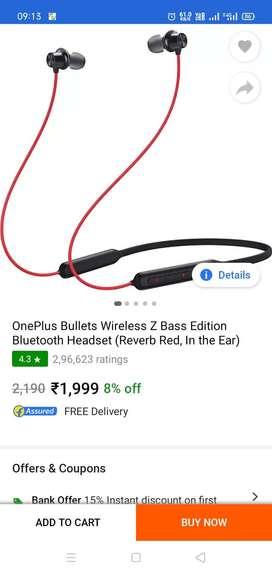 ONE PLUS EARPHONE