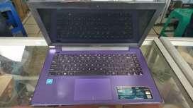 Laptop ASUS x453s tidak ada kendala dan mulus