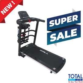 Alat Fitness Gym Alat Olahraga Lari Treadmill Elektrik