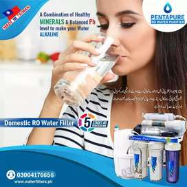 5 Stages ro plant - Best water filter for Home PentaPure