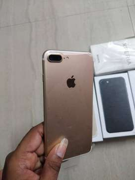 Apple iPhone 7 plus (128GB) with 3 month seller warranty